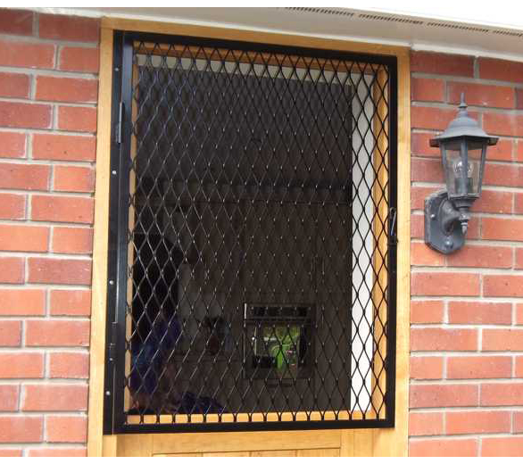 Security doors grilles for windows and